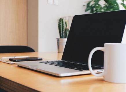 Desk space an laptop