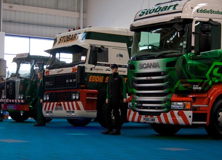 Eddie Stobbart Trucks