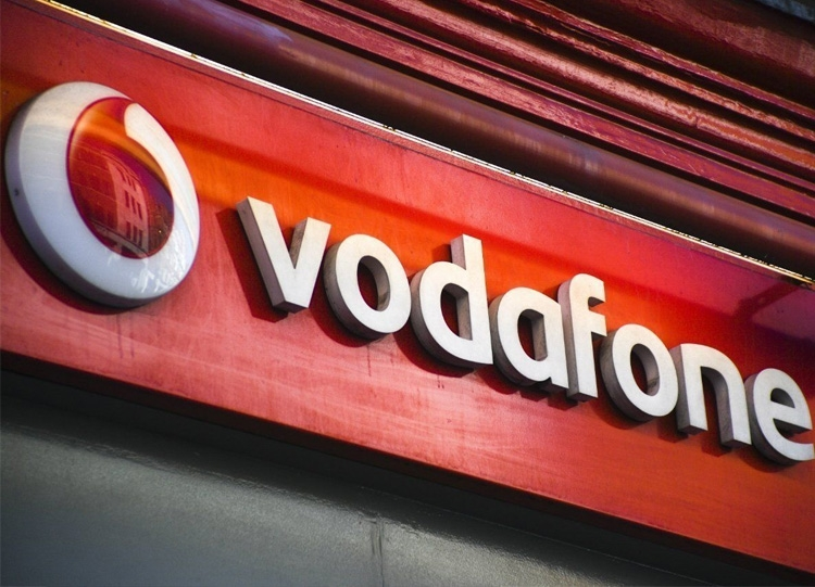 Vodafone Store Front Sign